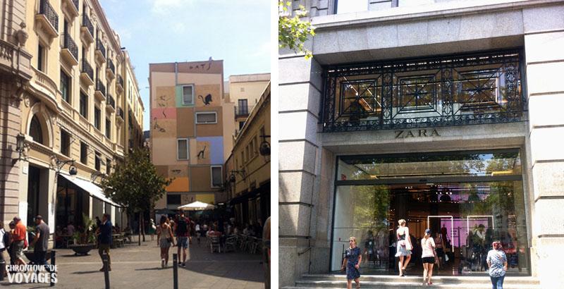 1 journée à Barcelone, 5 choses à voir absolument ! - Las Ramblas