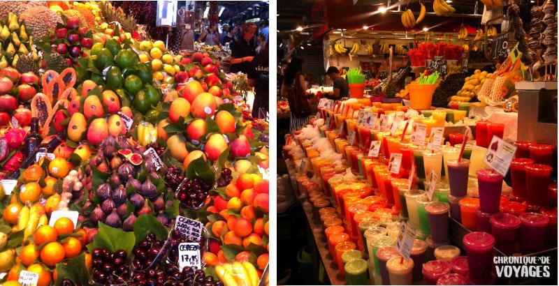 1 journée à Barcelone, 5 choses à voir absolument ! - La marché de la boquaria
