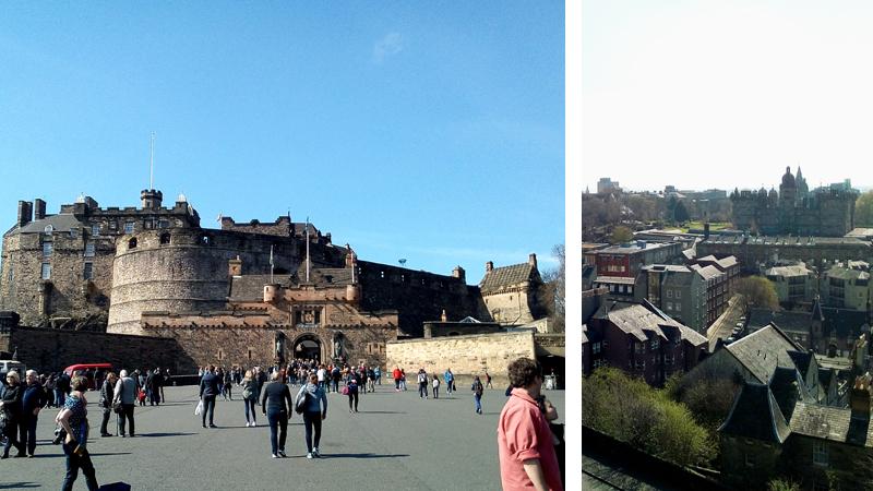 Chateau d'Edimbourg, Chronique de Voyages