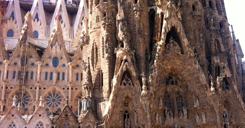1 journée pour visiter Barcelone, 5 choses à faire absolument - weekend Sagrada Familia