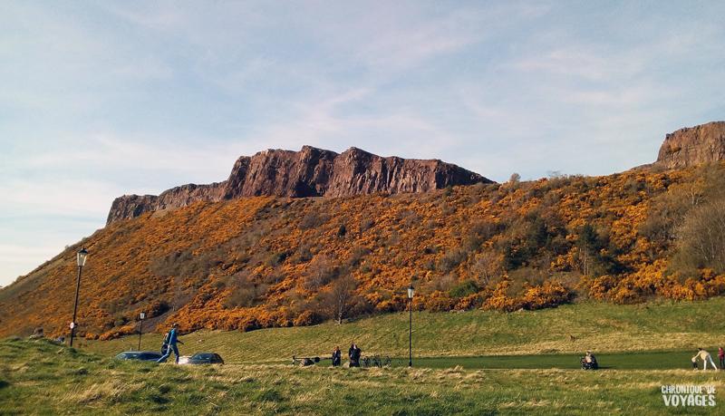 Les collines d'Arthur's Seat & Hollyrood Park, Edimbourg -Chronique de Voyages