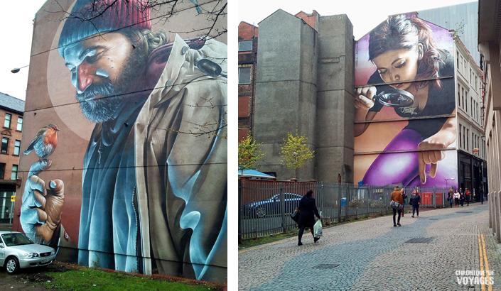 Street Art et Fresques de rues, Edimbourg -Chronique de Voyages