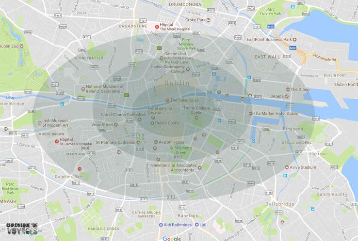 Les quartiers où se loger facilement dans Dublin avec Chronique de Voyages