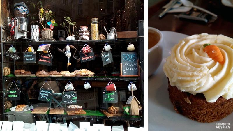 Thé et carrot cake à Edimbourg, Chronique de Voyages
