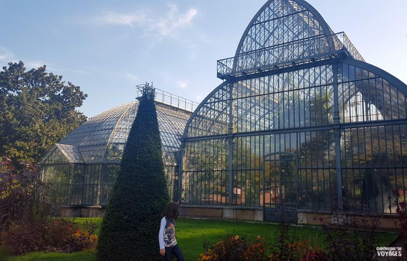 Jardin botanique parc de la tête d'or, Lyon