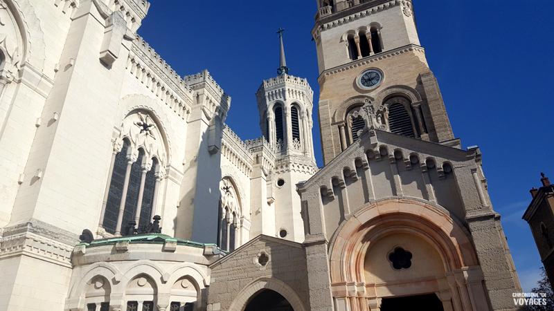 La basilique notre dame de Fourvière, weekend à Lyon