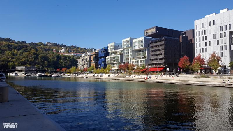 Quartier des Confluences à Lyon