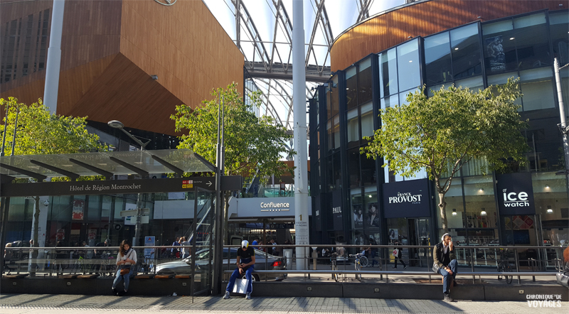 Centre commercial Confluence, un weekend à Lyon