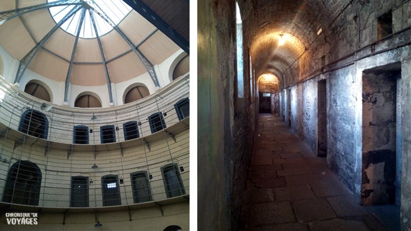 La prison de Dublin - Kilmainham Goal