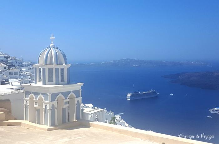 La Grèce et les Cyclades : 3 jours pour visiter l'île de Santorin (Fira & Oia)